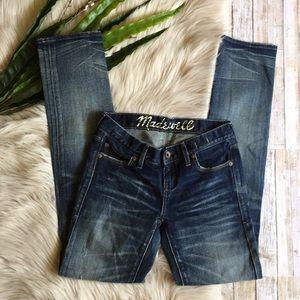 NWOT - MADEWELL Rail Straight Jeans